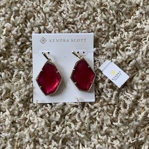 Kendra Scott Hot Pink Earings